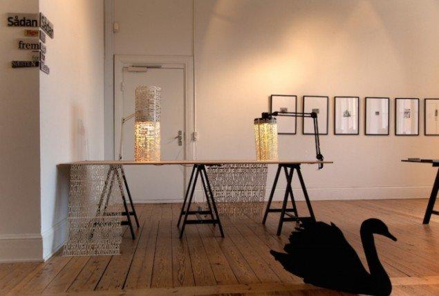 Installationsview af Tanja Nellemann Poulsen-værker. Foto: Foto: Else Ploug Isaksen