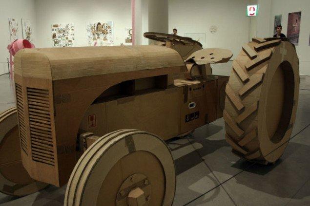 1:1 kopi af en Ferguson traktor. Foto: Maja Egelund