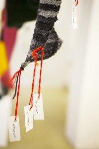 Diana Jabi: March 15, 2011, ongoing work Crochet. Foto: TYS