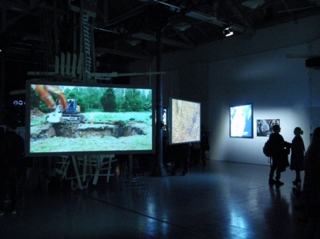 Installationsview, Rewriting Histories, Fotografisk Center. (Foto: Matthias Hvass Borello)