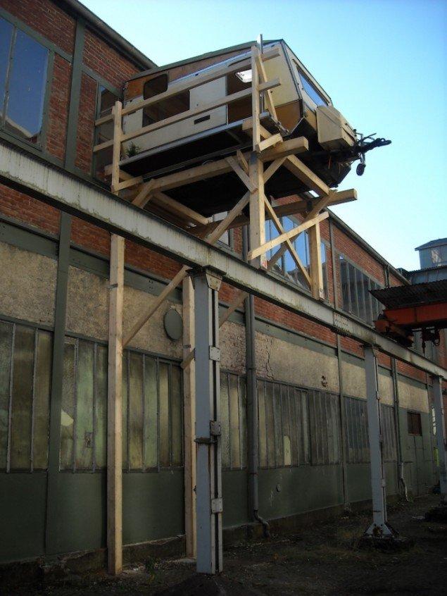 Defining space i samarbejde med dr. nexus, Attendorner Kulturstipendium, 2008. Foto: dr. nexus