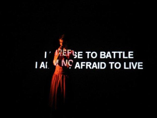 Still fra værket I Refuse to Battle. Pressefoto