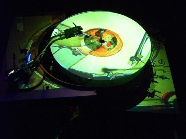 Unloading, detalje, Spanien 19C, Aarhus, 2008. Foto: Vinyl-Terror & -Horror