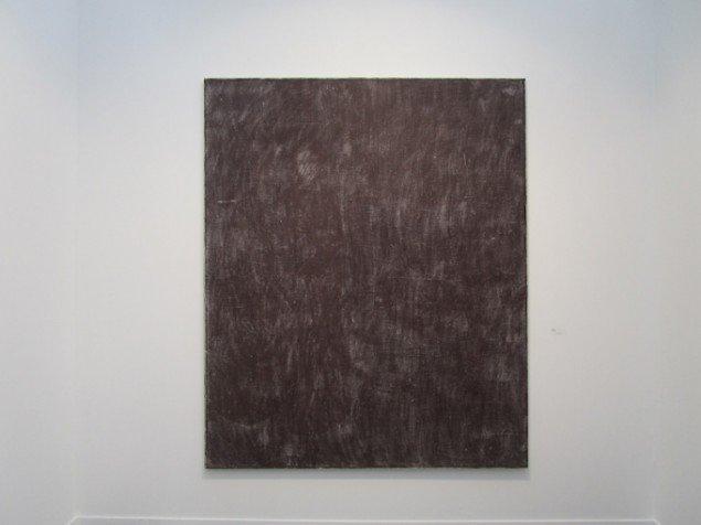 Sergej Jensen var i år repræsenteret på FIAC i Paris. Hos det Berlin-baserede Galerie Neu. Sergej Jensen: Uden titel, 2015. Courtesy: Galerie Neu, Berlin. Foto: Stine Nørgaard Lykkebo