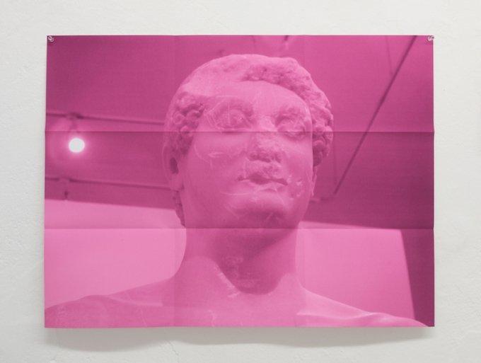 Korrespondance 4, 2015. Kan opleves på udstillingen af samme navn på Galleri Image, Aarhus. Foto: David Stjernholm