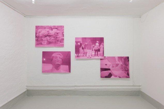 Installationsview fra udstillingen Korrespondance, Galleri Image. Foto: David Stjernholm