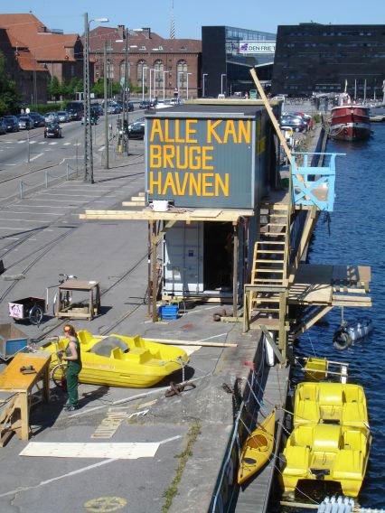 Parfume har etableret Adventure Squad på  Christians Brygge. Pressefoto