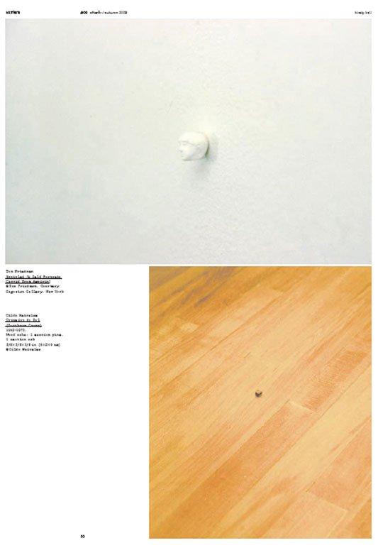 Nogle af de diminutive værker Kirsty Bell behandler i magasinet