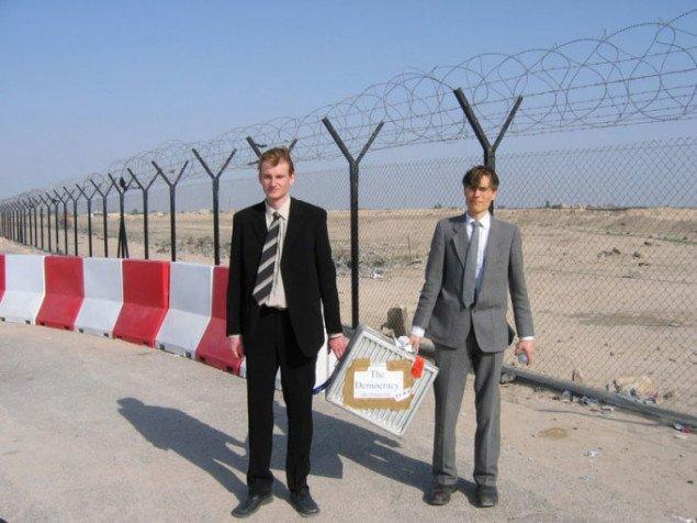 Democracy/Destination Iraq.  Foto: Pressefoto