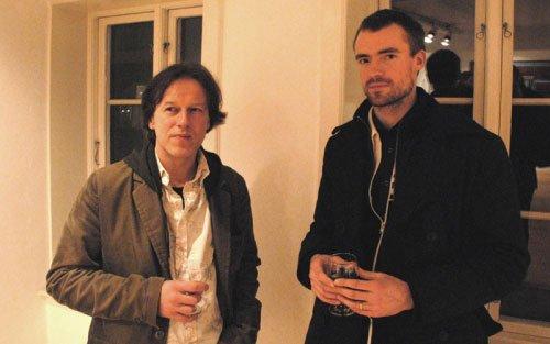 Henck van den Bosch (tv) og Asmund Havsteen-Mikkelsen.Foto: Ole Bak Jakobsen