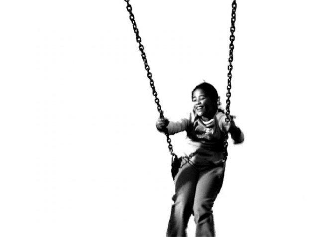 Janet Lilo: Swing, 2006. Pressefoto