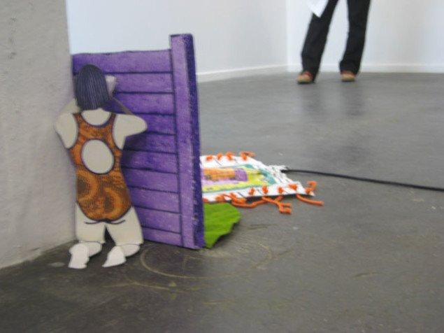 Carina Randløv: Installation, uden titel, 2008. Foto: Pernille Rom Bruun