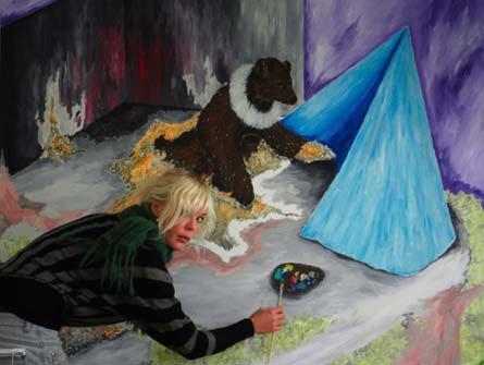 Bibi Katholm: So much more than a bear, 2008. Pressefoto
