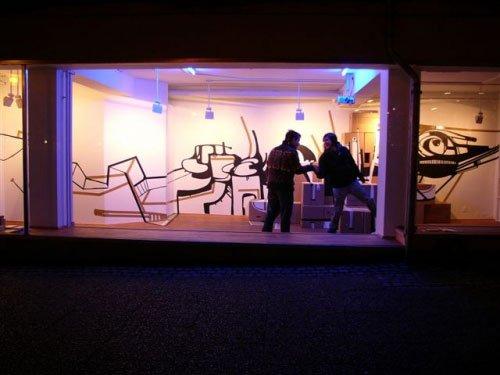 Senko Studio i decembermørke. Foto: Sergei Sviatchenko