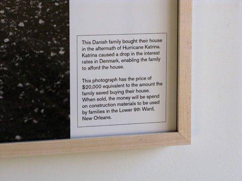 Teksten på WHEN THE LEVEES BROKE, WE BOUGHT OUR HOUSE fortæller historien om Katrina og det danske huskøb. Pressefoto