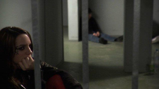 Stille venten i Johanna Domkes video. Johanna Domke, Cuers, 2008. Foto: Anne Misselwitz.