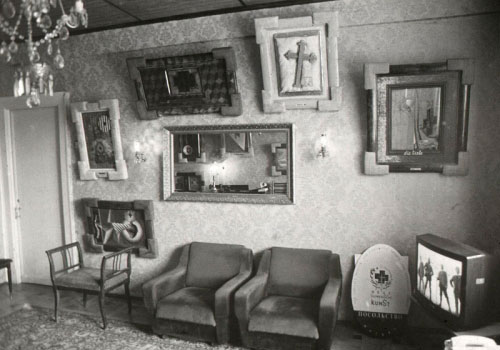 Interiør fra `Embassy Moscow´, 1992. Foto: NSK.