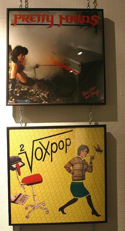 Pretty Maids og Voxpop henholdsvis udlever og udleverer stereotyperne! Foto: Kristian Handberg.