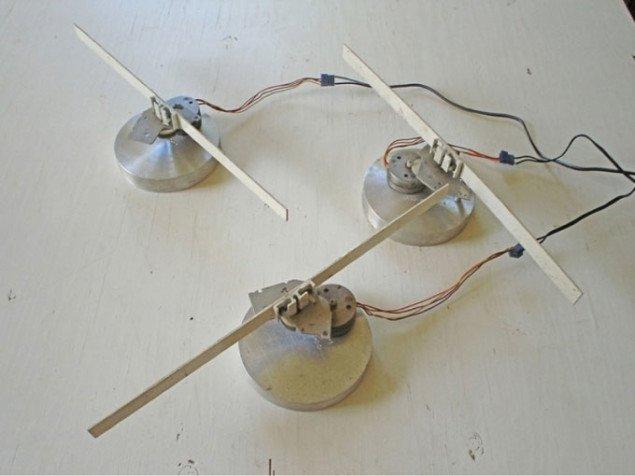 Sticks af Doug Back, installationvue. Pressefoto