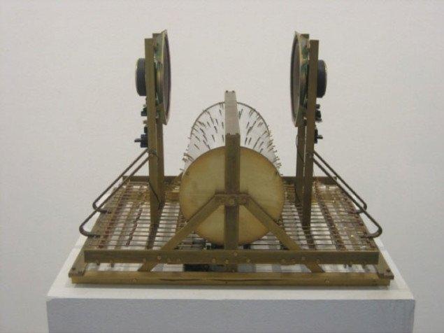 Konspirerende maskin af Kristoffer Myskja, installationvue. Pressefoto