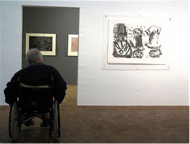 Vue med kørestol. Foto: Lars Svanholm