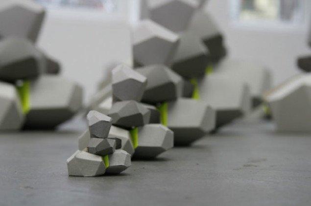 Tommy Støckel: Model for Early Pyramid, 2007, Konrad Fischer Galerie, Düsseldorf. Pressefoto