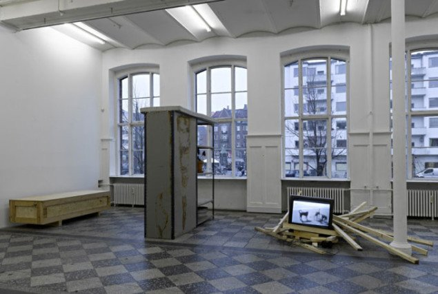Installationsview. Foto: Anders Sune Berg.