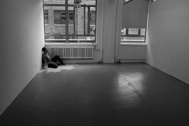 Nikolaj Recke: Caught in a cornerpiece. Fra hans residency i New York 2007. Pressefoto