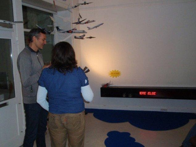 Installationsvue og Ole Bak Jakobsen og Tanja Nellemann. Foto: Marie Norman Nyeng