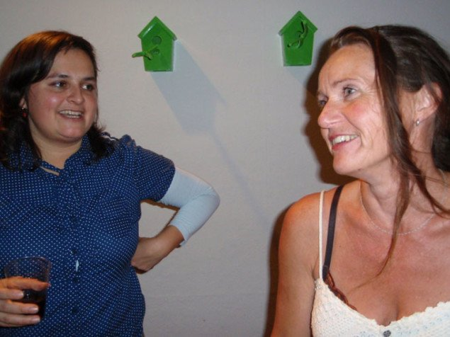 Tanja Nellemann og Grete Aagaard. Foto: Marie Norman Nyeng