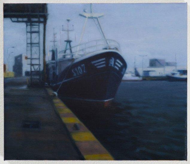 Ulrik Møller: Trawler, 2008. Foto: Anders Sune Berg/Galleri Christina Wilson.