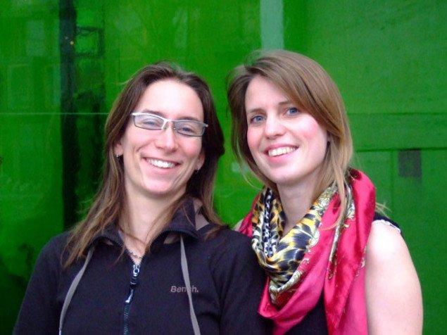 Catja Thystrup og Stine Keiding. Foto: Anne Sofie Würgler Villadsen.