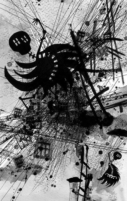 En af Annika Øyrabøs illustrationer