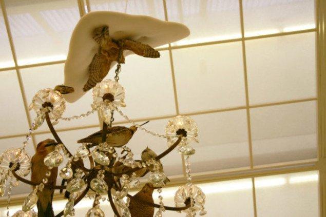 Et kig op i loftet. Foto: Bonnie Bay Andersen