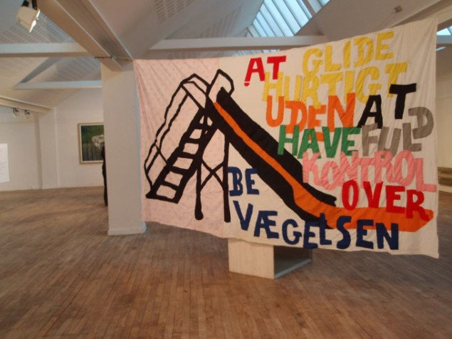 Deirdre Humphrys og Andreas Johansens Slide ShowFoto: Marie Norman Nyeng