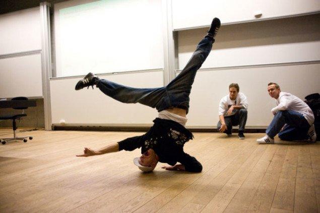 Den interkulturelle dansetrup, Freestyle Phanatix, der optrådte til seminaret. Foto: Sascha Hegner.