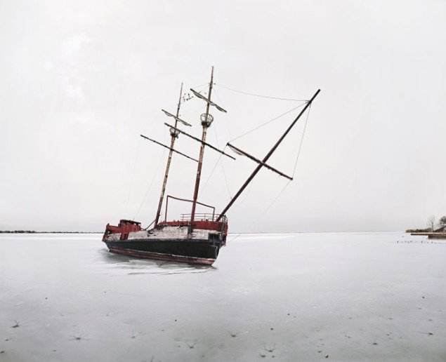 Thomas Bangsted:Anchor Bay, 2006, 203,2 x 249,6 cm, C-Print