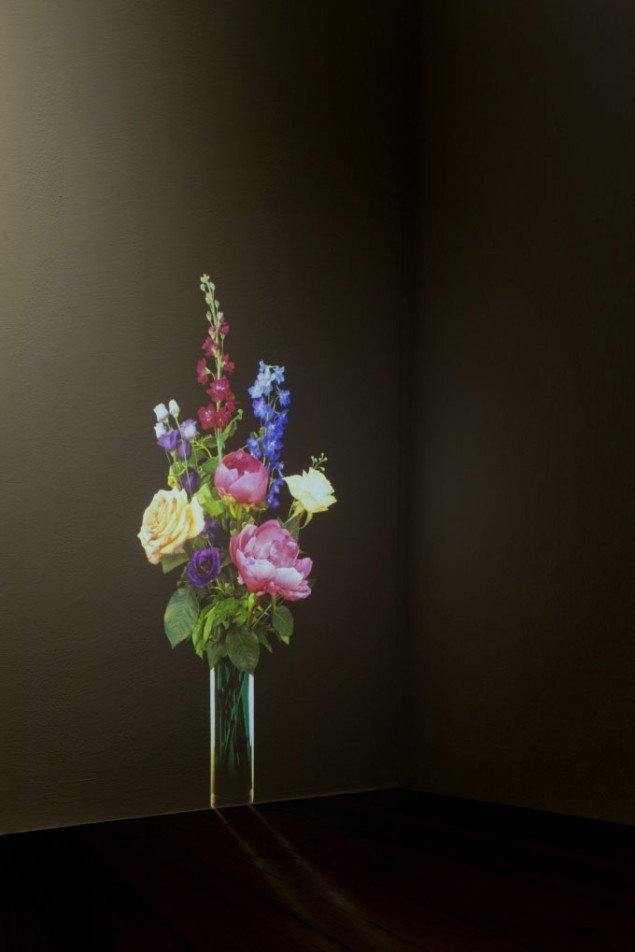 Tove Storch: Untitled, 2007 Projektion på væg. Foto: Hans Ole Madsen