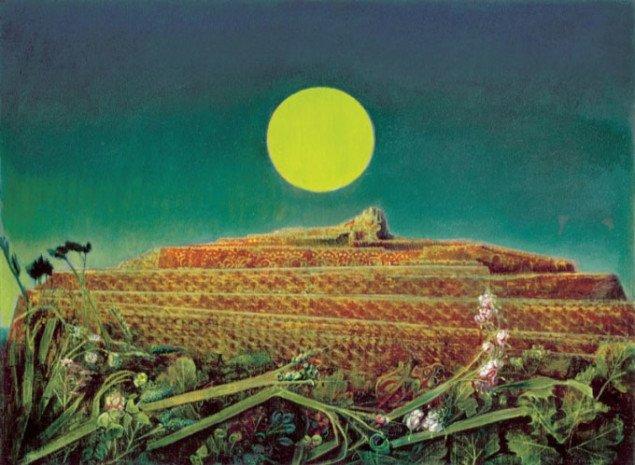 En organisk drømmeby eller ophobning af tilfældigheder? Hele byen,  Max Ernst, 1935-36, Kunsthaus Zürich. Pressefoto