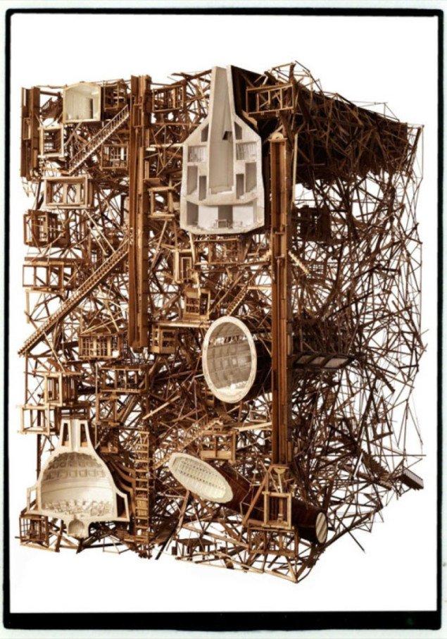 City of the (Re)Orientated af Ben Clement og Sebastian de la Cour (2008). Foto: Niclas Jessen