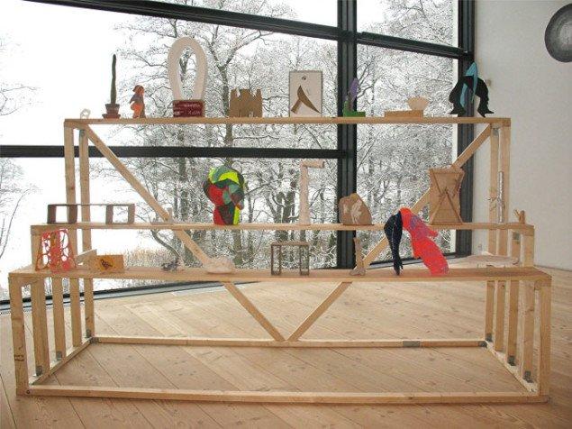 Svend Danielsen og Malene Hartmann, Hyldeskulptur, mixed media. Foto: Lars Svanholm.