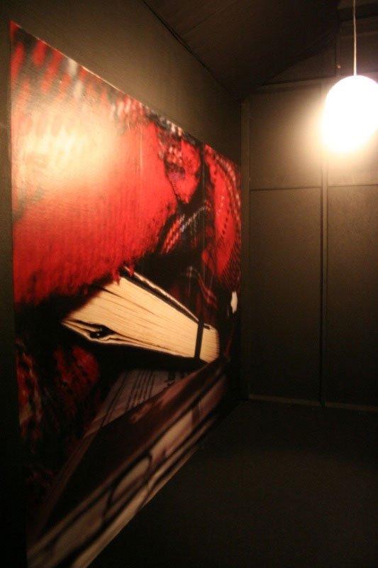 Henriette Heise, installationsvue, Foto: Sanne Flyvbjerg