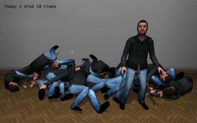 Today I Died, Jacob Tækker,  2009, Pressefoto