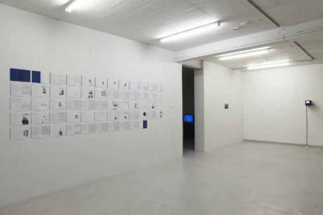 Amel Ibrahimovic. Installationsview. Foto: Anders Sune Berg.