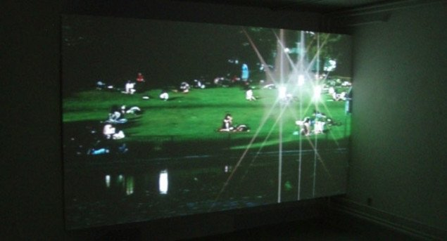 Mariana Vassileva: Reflections, 2006, (udsnit) Foto: Julie Lykke Jensen