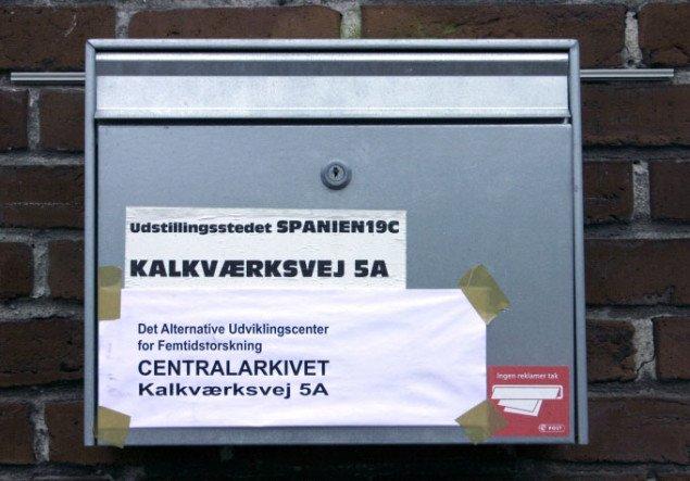 Arkivet kan stadig modtage post. Foto: Maja Egelund
