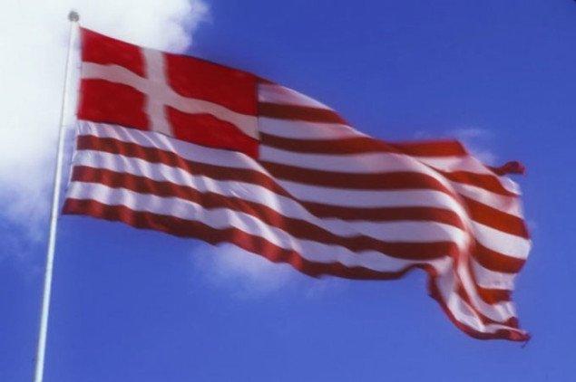 Det selvstyrende Amagers flag. Foto: Radiant Copenhagen.
