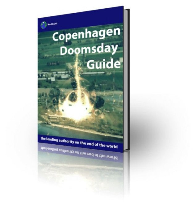 Kristian Husteds berømte guide til de mest kendte dommedagsprofetier i 2192. Foto: Radiant Copenhagen.