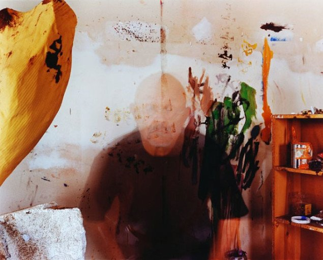 Disappearing Before Gerhard and Susanne, 2004 © Jim Dine; Copy-Dan Billedkunst, København 2009.