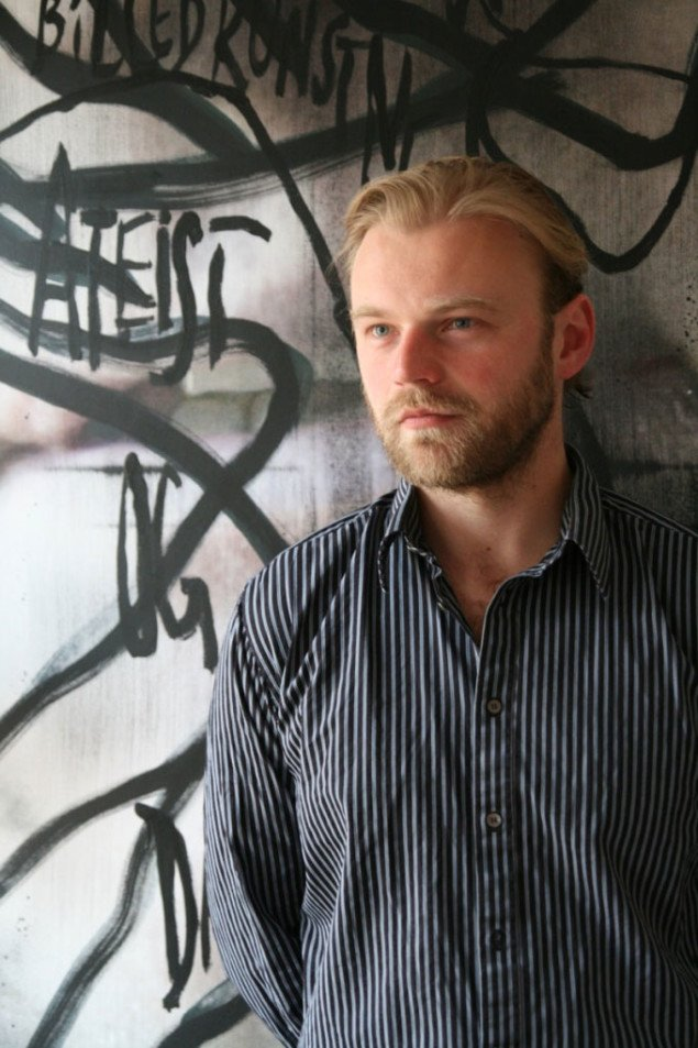 Ferdinand Ahm Krag: billedkunstner og snarlig med-galleriejer i Valby. (foto: Anders Sune Berg)